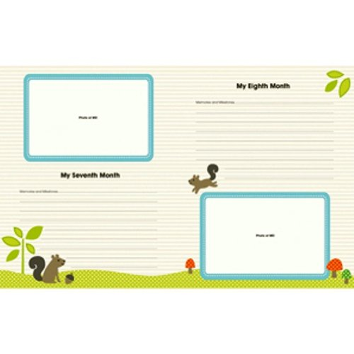 Carters-5-Year-Loose-Leaf-Memory-Book-Woodland-0-1